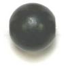 Wooden Bead Round 12mm Black